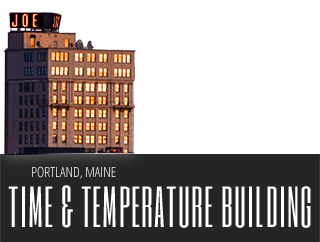 Portland Maine Time and Temp Building Photos : Time And Temp Blog
